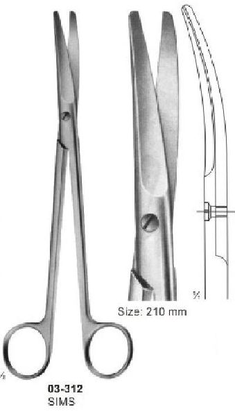 03-312 Operating and Gynaecology Scissor
