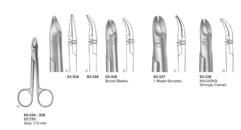 03-334-338 Wire & Plate Scissor