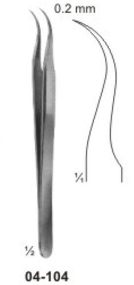 04-104 Jeweler-Type Micro Forcep