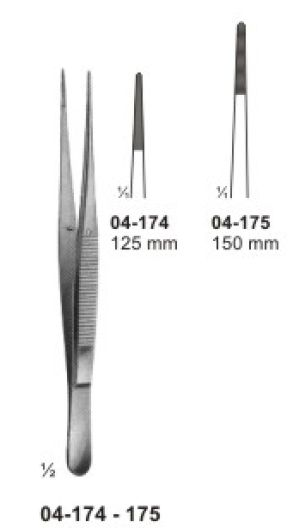 04-174-175 Delicate Dissecting Forceps