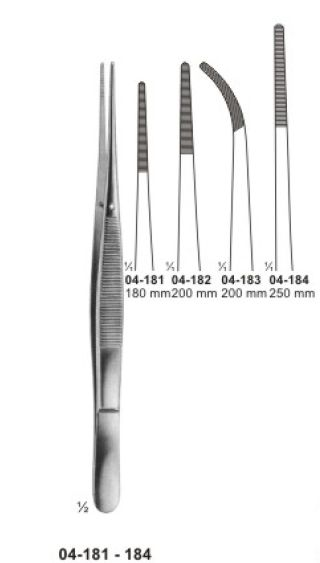 04-181-184 Delicate Dissecting Forceps