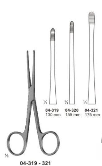04-319-321 Sponge and Dressing Forcep
