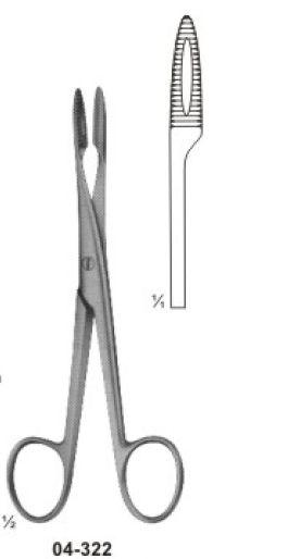 04-322 Sponge and Dressing Forcep