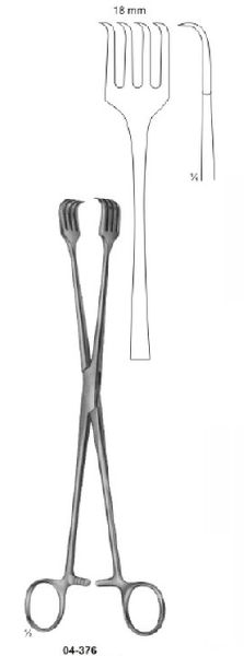 04-376 Organ and Tissue Grasping Forceps