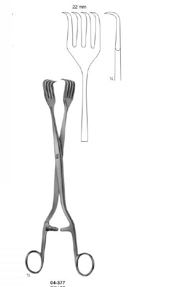 04-377 Organ and Tissue Grasping Forceps