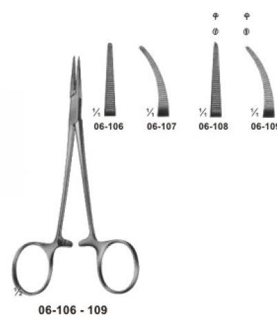 06-102-109 Delicate Haemostatic Forceps