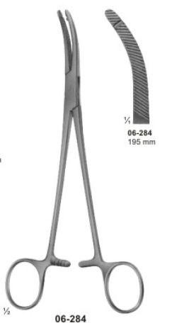 06-284 Hysterectomy Forcep
