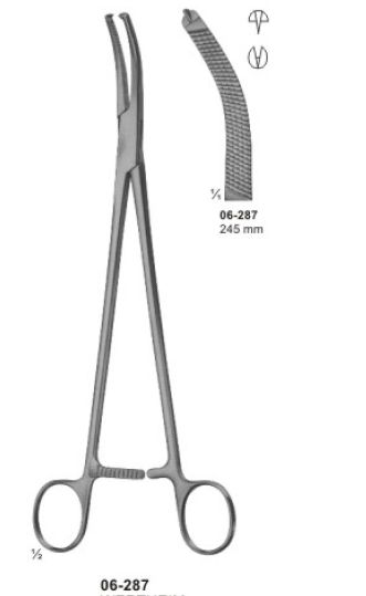 06-287 Hysterectomy Forcep