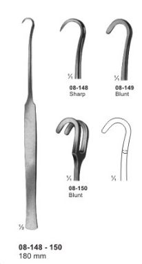 08-148-150 Wound Trachea Retractor
