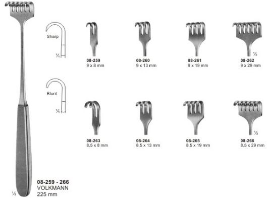 08-259-266 Bone Retractor