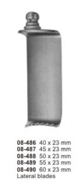 08-486-490 Cervical Vertebral Column Retractor