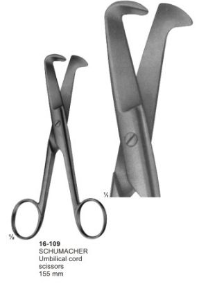 16-109 Umbilical Cord Clamps