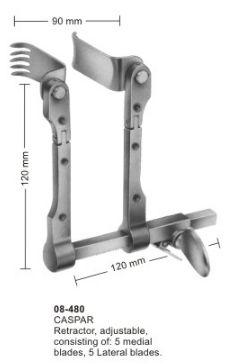Cervical Vertebral Column Retractors