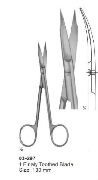 Delicate Nasal Tonsil Scissors
