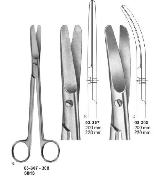Operating and Gynaecology Scissors