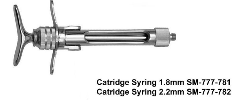 Cartridge Syringes Manufacturer,Cartridge Syringes Exporter
