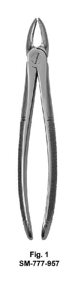 SM-777-957 UK Pattern Tooth Extraction Forceps