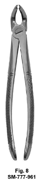 SM-777-961 UK Pattern Tooth Extraction Forceps