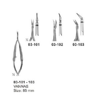 Spring Type Flat Handle Scissors