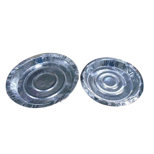 Round Silver Disposable Paper Plates  sc 1 st  Tirth Gruh Udyug & Round Silver Disposable Paper Plates Manufacturer Supplier in Nadiad ...