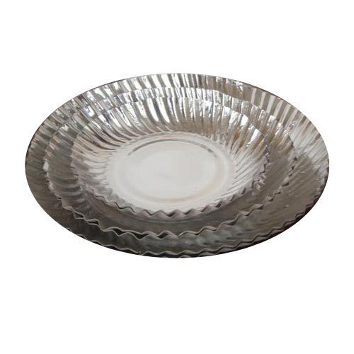 Silver Aluminum Coated Disposable Paper Plates  sc 1 st  Tirth Gruh Udyug & Silver Aluminum Coated Disposable Paper Plates Manufacturer Supplier ...