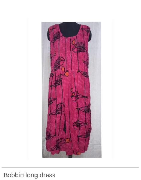 Long Bobbin Dress 01