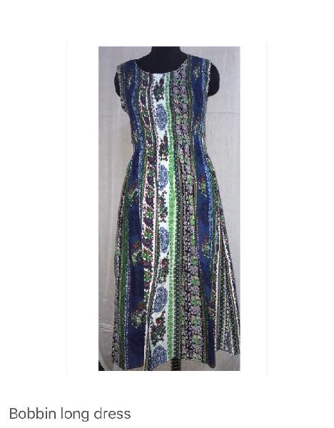 Long Bobbin Dress 02