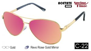 751M Metal Sunglasses