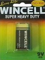 9V 1 Wincell Super Heavy Duty Batteries