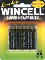 4 x 1 AA Wincell Super Heavy Duty Batteries
