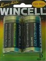 D Wincell Digital Alkaline Batteries