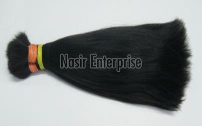 Black Single Drawn Human Hair