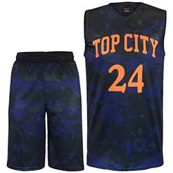 WB-1306 Basketball Uniform