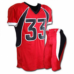 WB-1601 American Football Uniform