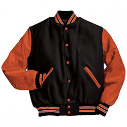 Wool Body and Wool Sleeves Varsity jackets, University Jackets, WB-1901 Varsity Jacket