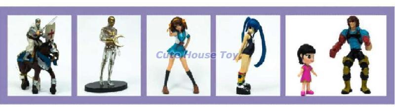 PVC Action Toys