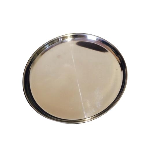 Stainless Steel Dinner Plate 02