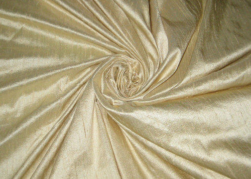 Poly Dupion Plain Silk Fabric