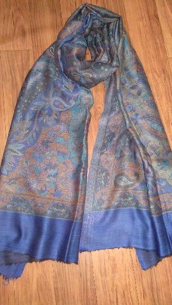 Fine Wool Jamawar Pala Stole  03