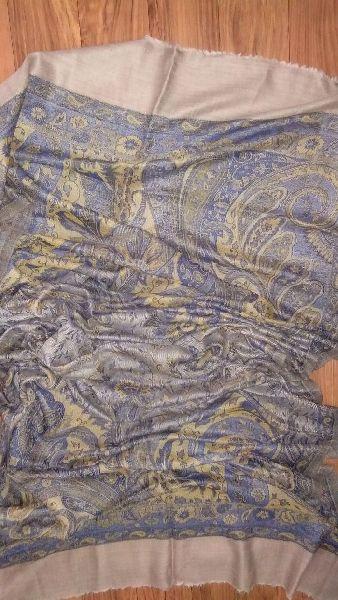 Fine Wool Jamawar Pala Stole 05