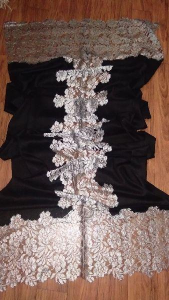 Fine Wool Lace Stole 02