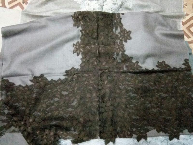 Fine Wool Lace Stole 04