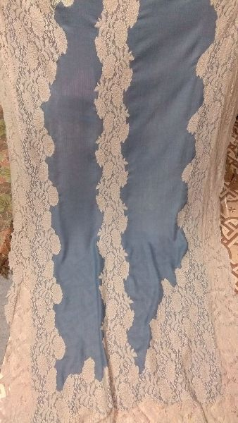 Fine Wool Valentino Lace Stoles