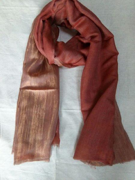 Reversible Zari Fine Wool Stole 03