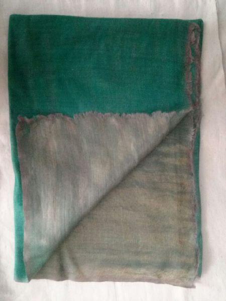 Reversible Zari Fine Wool Stole 05
