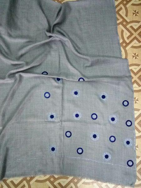Swarovski Work Fine Wool Stole 06