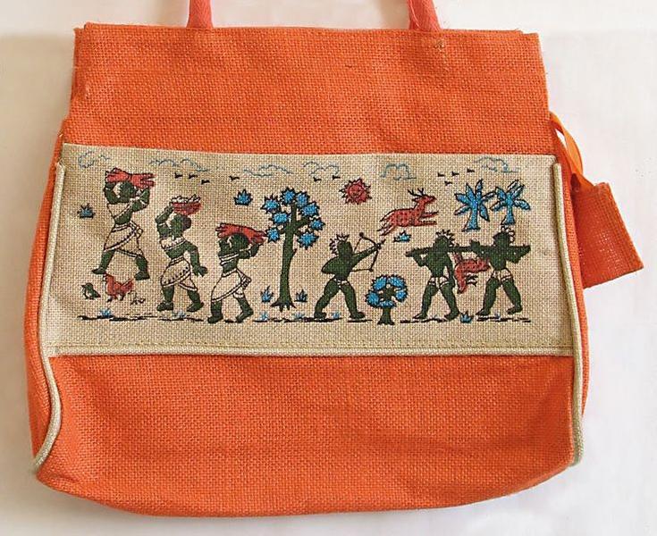 Jute Shantiniketan Bags