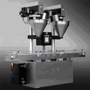 Double Head Auger Filling Machine