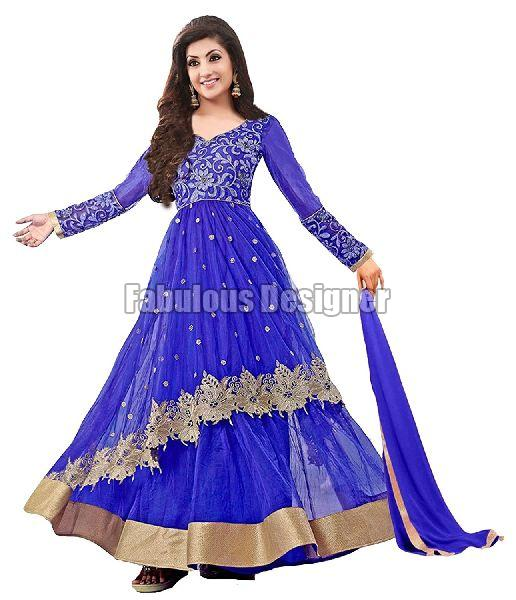 Ladies Anarkali Suit 01