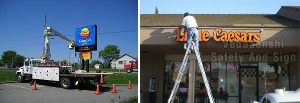 Sign Board Installation Services